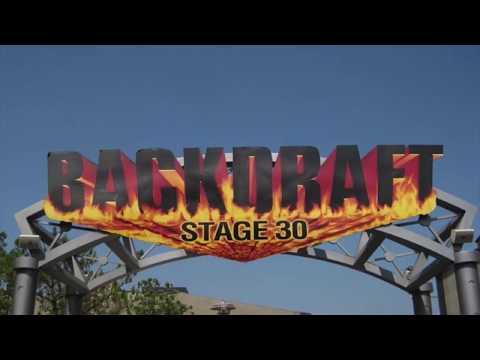 EXTINCT: Backdraft Universal Studios Hollywood, California 1995