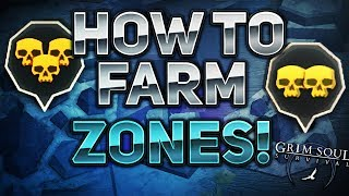 TIPS AND TRICKS FOR FARMING RED ZONES - Grim Soul Dark Fantasy Survival #3