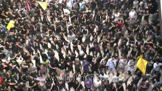 Shia muslims mass gathering- Muharram