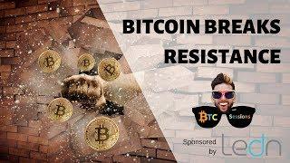 Bitcoin Breaks Resistance | Coinbase Chicago Shutdown | BTC Un-bannable