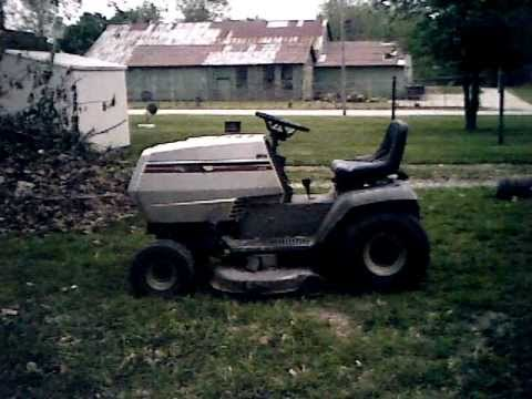 hqdefault white 42 inch lt 14 riding lawn mower youtube Toto LT542G at bakdesigns.co