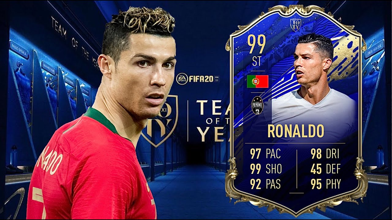 Fifa 20 Cristiano Ronaldo Toty 99 Player Review I Fifa 20 Ultimate Team Youtube