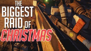 Rust | THE BIGGEST RAID OF CHRISTMAS