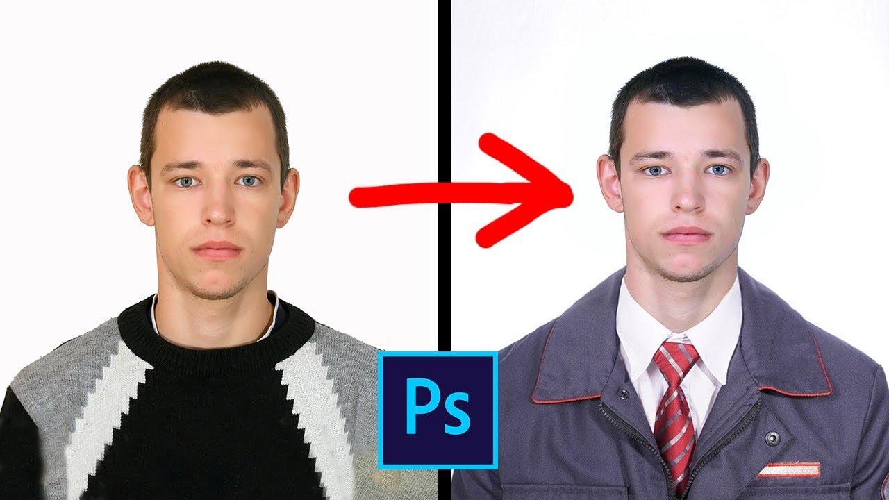 Как перенести голову с одной фотографии на другую в ...