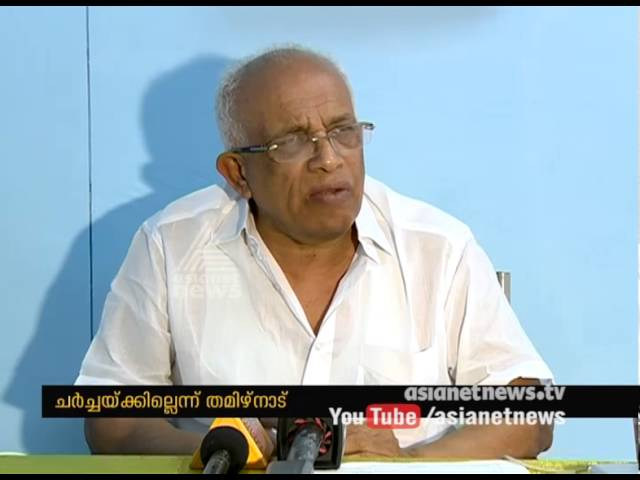 No Discussion over Parambikulam Aliyar issue says Tamil Nadu Government