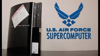 This PS3 was part of a Supercomputer in the US Air Force!