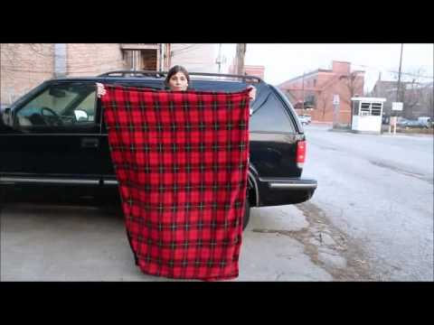 Car Cozy Heated Blanket With Timer 12 Volt Model Twi