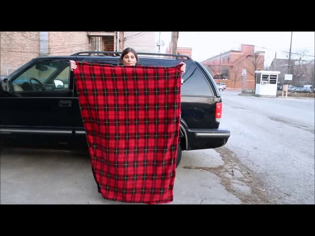 Car Cozy Heated Blanket with Timer - 12 Volt 5d766b17b