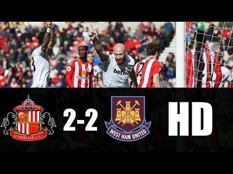 Sunderland vs West Ham 2-2 RESUMEN GOLES 2017 HD