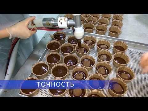 Дозирование теста для кексов. Дозатор VM 700