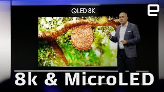 Samsung 8K and MicroLED at CES 2019