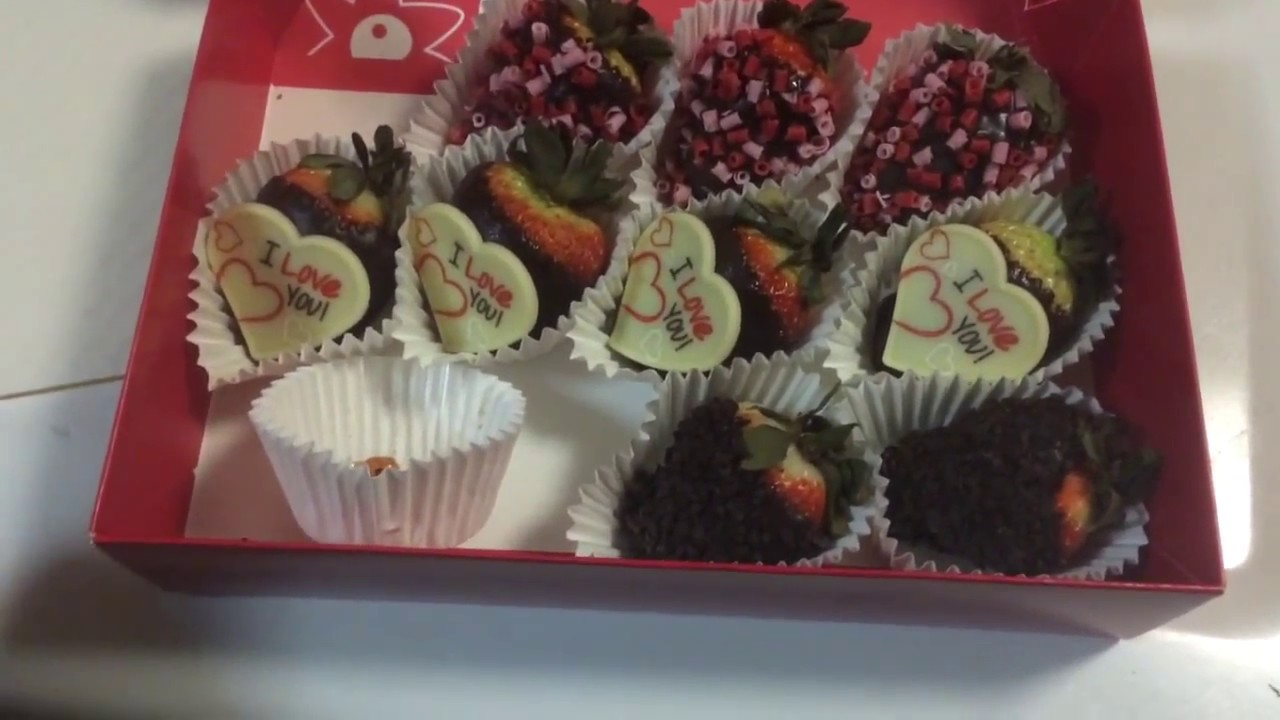 Edible Arrangements Chocolate Covered Strawberries Youtube