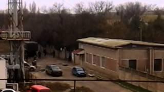 В Евпаторию продолжают прибывать вооруженные люди