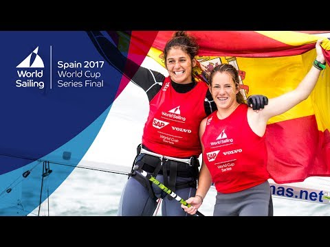 Full Women's 470 Medal Race from the World Cup Series Final in Santander 2017