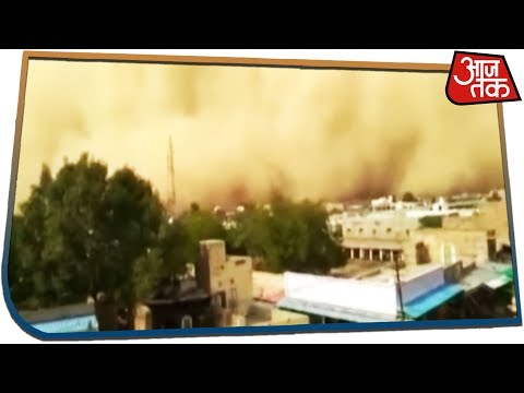Exclusive Visuals - Dust Storm Wraps Jodhpur City, Brings Life To A Standstill