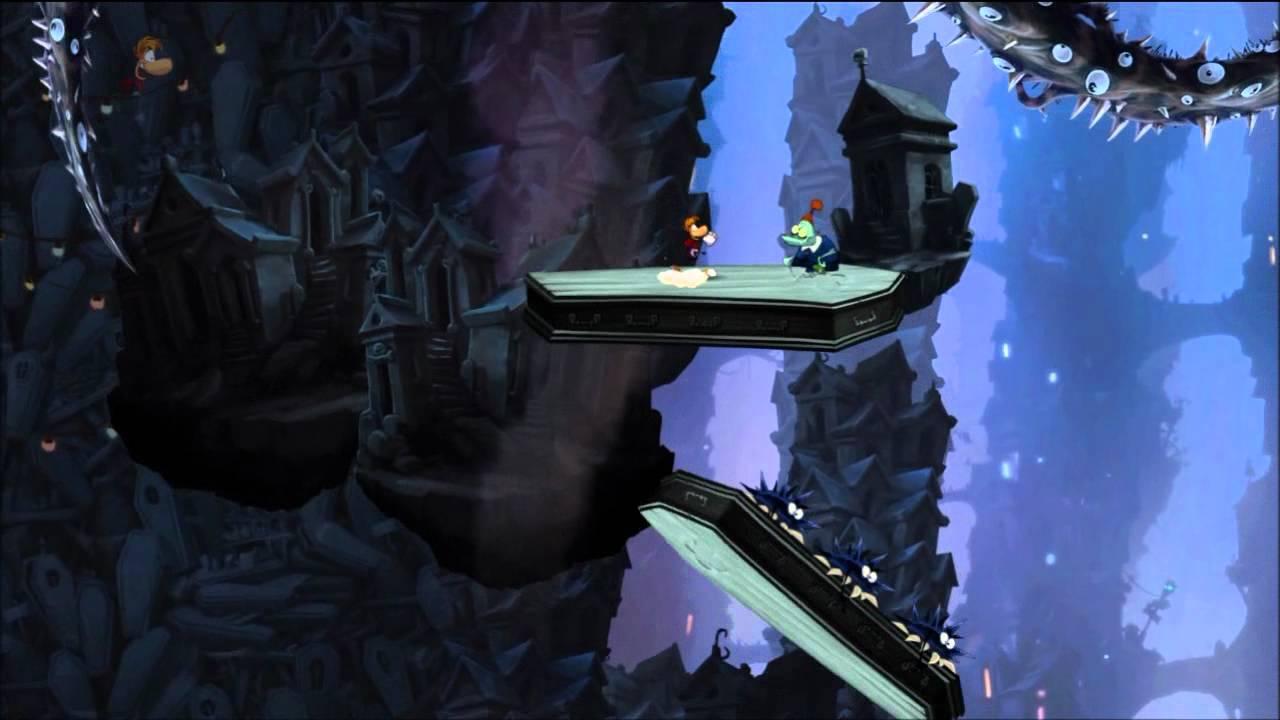 Rayman origins land of the livid dead secret area youtube