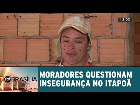 Moradores questionam insegurança em Itapoã