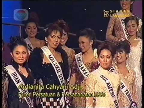 grand Final Puteri Indonesia 2005 part 6
