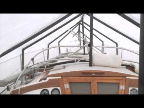 How To Build A Tarp Frame For A Boat Doovi