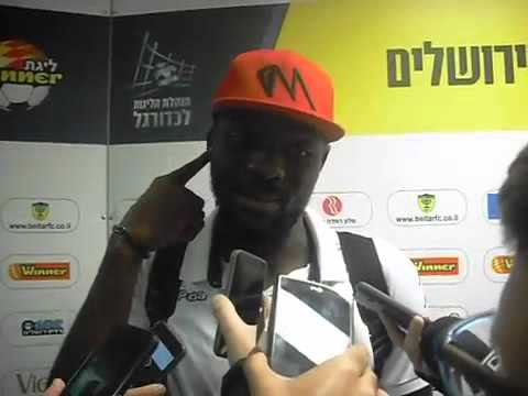 John Ogu, Beer Sheva After 1:1 Draw Vs Beitar Jerusalem