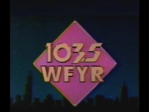 WFYRFM Chicago Radio  1990 commercial