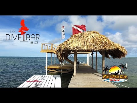 The Dive Bar in Ambergris Caye, Belize