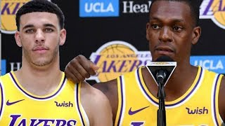 Lonzo Ball BENCHED! Lakers Confirm Rajon Rondo Will START At Point Guard!