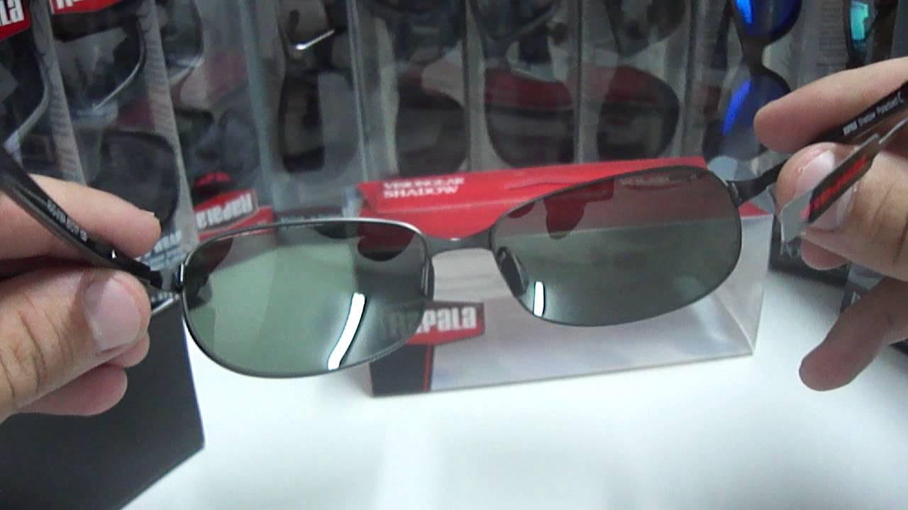 143eb586e6c5f Óculos Polarizado RAPALA Shadow RVG-018A - YouTube