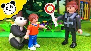 ⭕ FAMILIE PANDA - HILFE, die Polizei will meinen Panda erschießen?! Playmobil Film