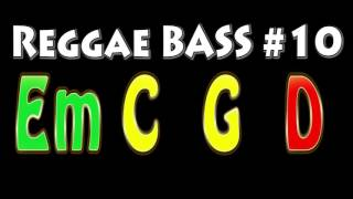 Reggae Bass Backing Track #10