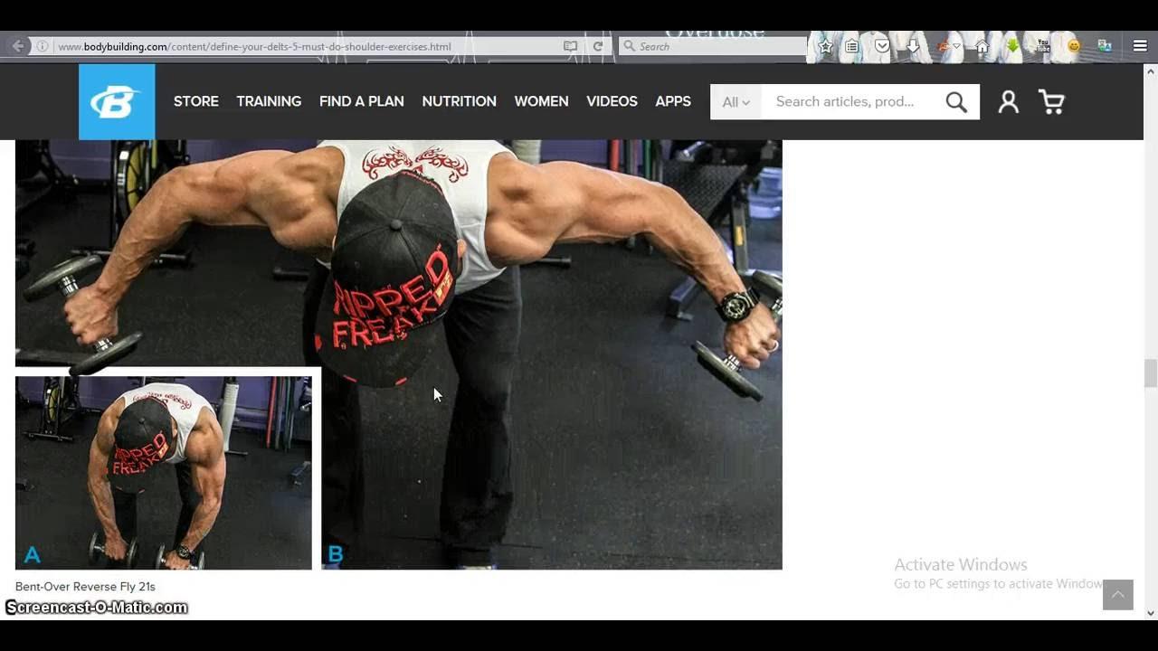Define Your Delts 5 Must Do Shoulder Exercises Youtube