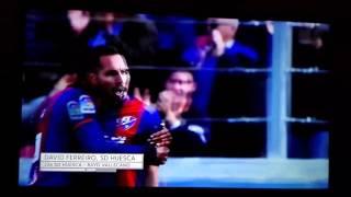 GOLAZO de David Ferreiro Huesca-Rayo vallecano 2-0