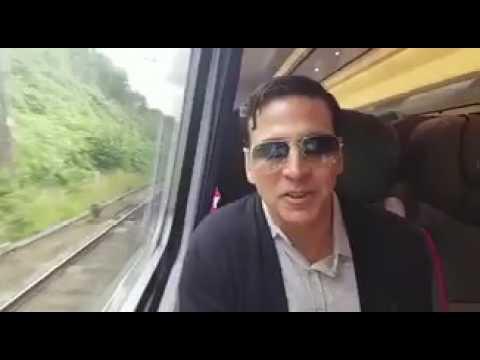 Akshay kumar Bullet Train Experience | London