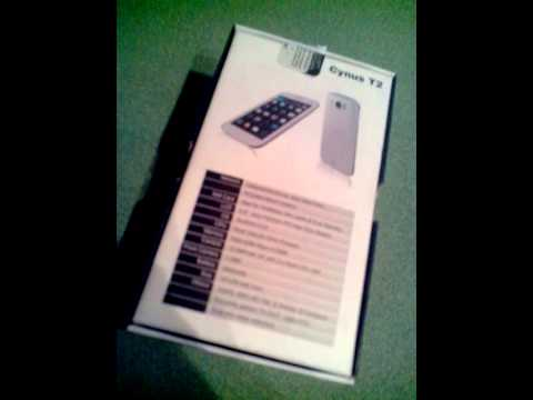 Mobistel cynus t2 unboxing