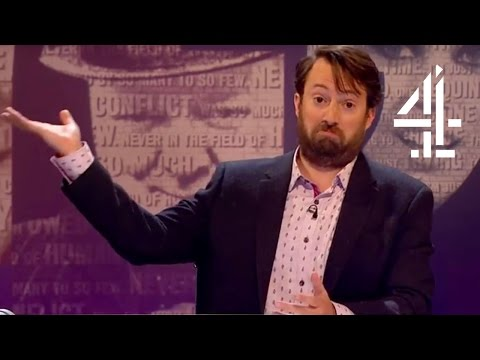 David Mitchell On Scientology | Was it Something I Said? - Outtake