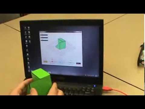 Mental rotation training with PSVT-like cubes