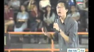 Gilang Bhaskara Stand Up Comedy Show MetroTV Festival Indonesia Kumpulan SUCI 1