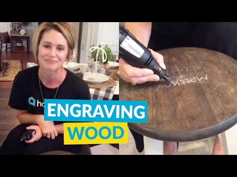 Engraving Wood Furniture