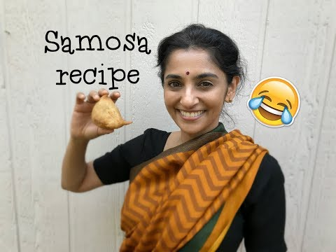 How to cook a samosa | Cooking recipe | Sailaja Talkies