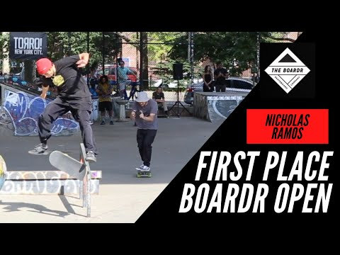 HOW NICHOLAS RAMOS WON FIRST PLACE BOARDR OPEN NEW YORK CITY 2021