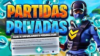 TORNEO S/ 100 EN DUO PARTIDAS PRIVADAS FORTNITE EN DIRECTO Ahora en vivo BRASIL | FORTNITE
