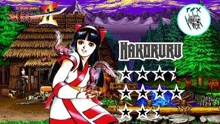 Samurai Shodown II   Nakoruru Arcade Playthrough