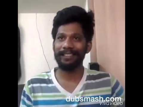 dhoni dubsmash for all tamil cricket fans