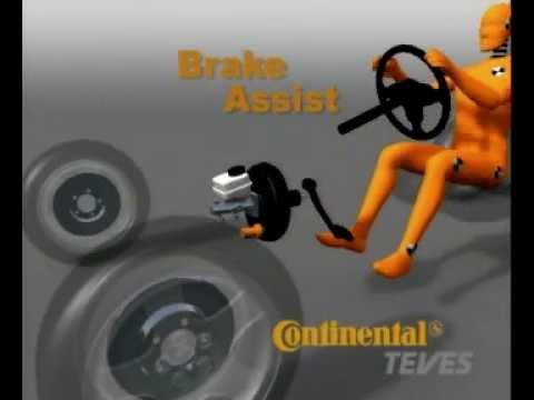 Brake assist BA