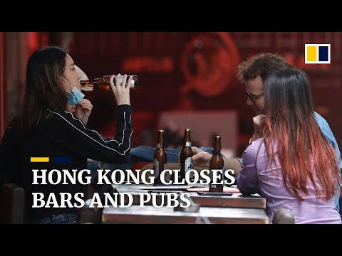 Coronavirus: Hong Kong orders bars and pubs to close amid Covid-19 pandemic