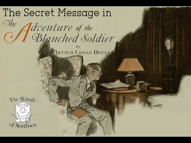 The Secret Message in the Blanched Soldier