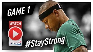 Isaiah Thomas Full Game 1 Highlights vs Bulls 2017 Playoffs - 33 Pts, 6 Ast