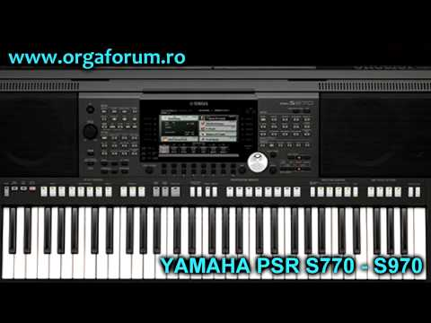 yamaha psr s770 s970 first presentation unofficial youtube. Black Bedroom Furniture Sets. Home Design Ideas