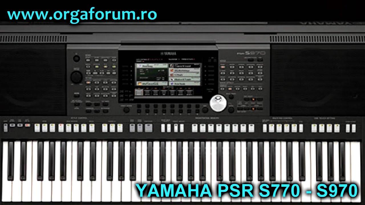 yamaha psr s770 s970 first presentation unofficial youtube. Black Bedroom Furniture Sets. Home Design Ideas