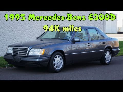 1995 Mercedes-Benz E300D E300 D Diesel 4 Door Sedan 94K Miles